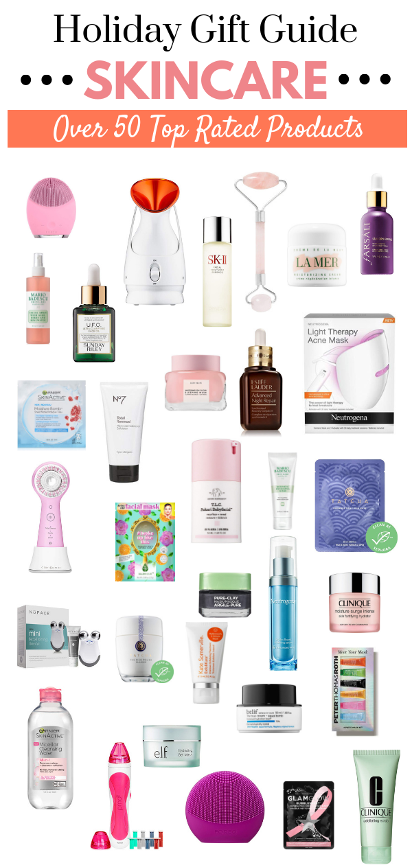holiday gift guide skincare gifts best skincare best beauty products beauty gifts