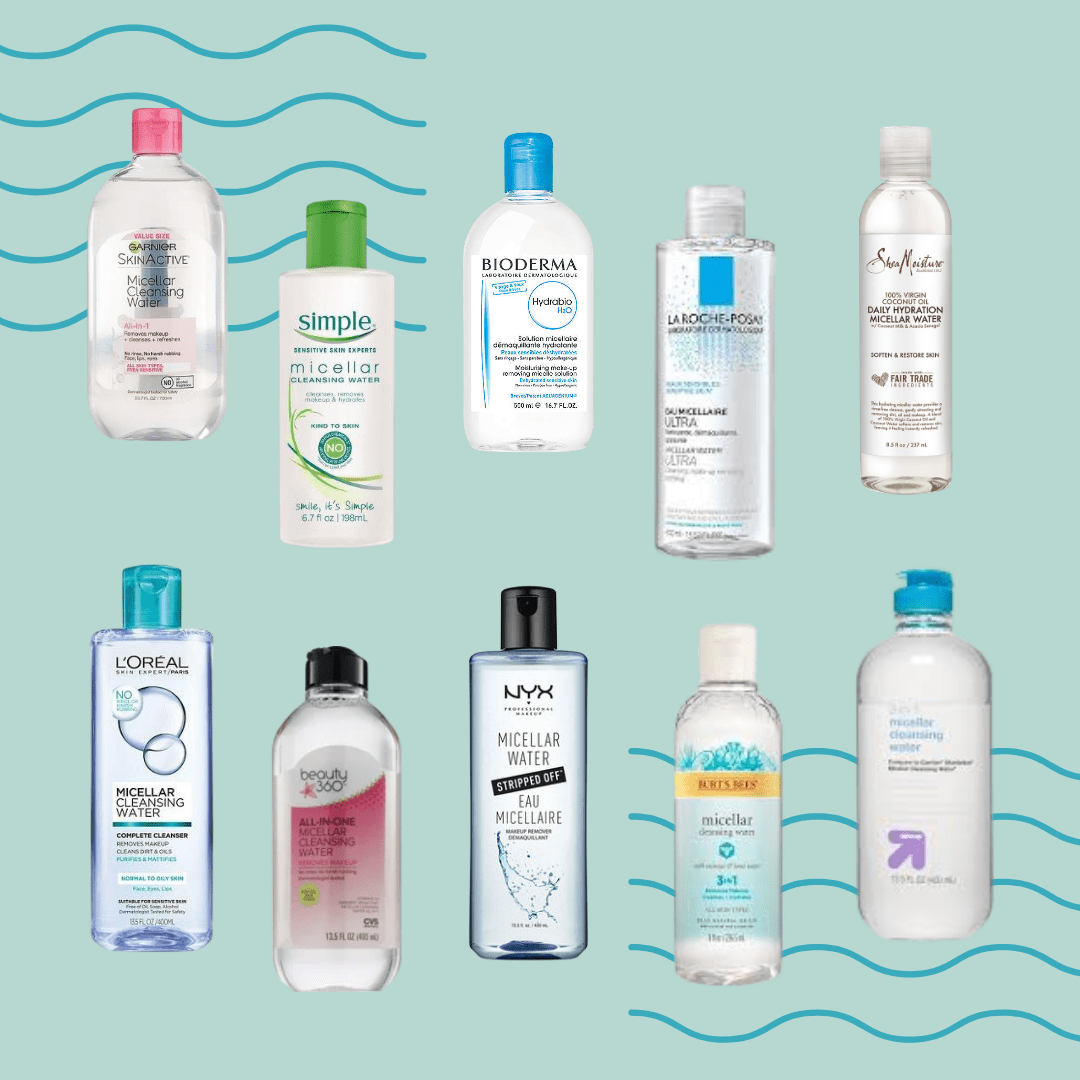 Best Makeup Removers Part 1: Micellar Waters Test & Review