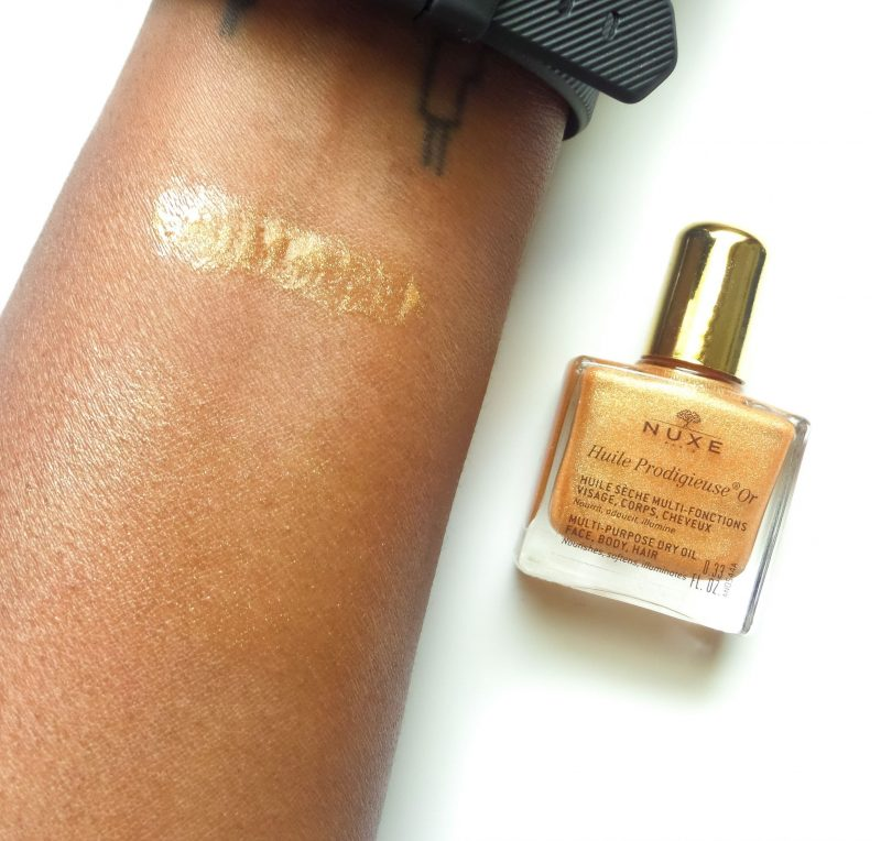 Nuxe Paris Multipurpose Shimmering Dry Oil Review