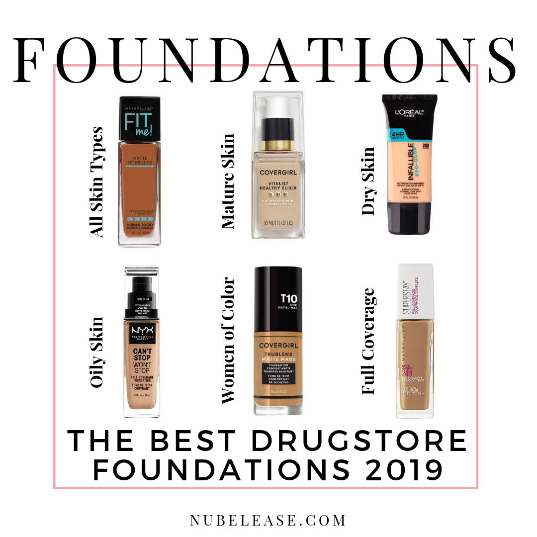 Best Foundation 2019 The Best Drugstore Foundations 2019