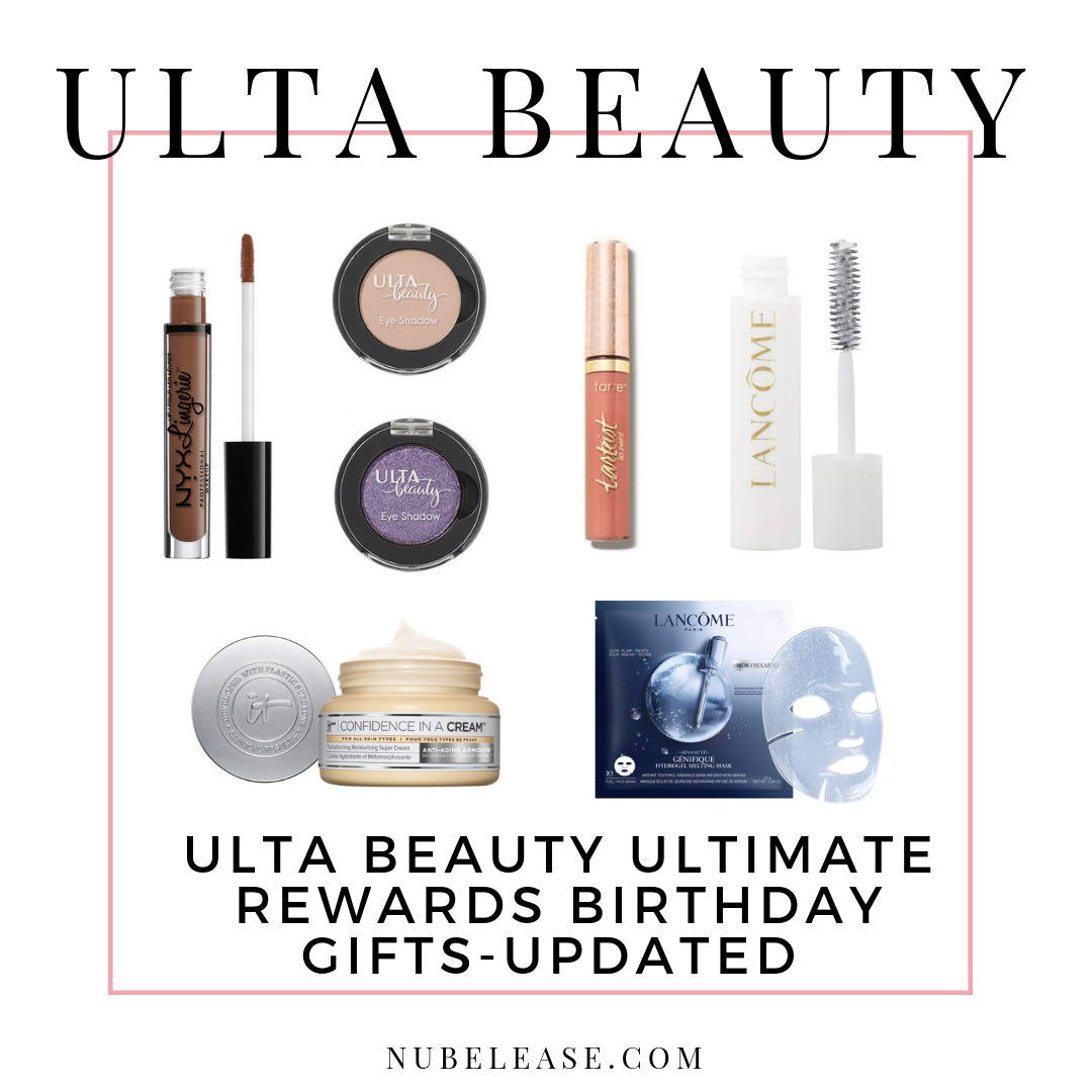 Ulta Beauty Ultimate Rewards Birthday Gifts 2019 UPDATED